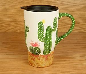 Hyderabad Cactus Travel Mug