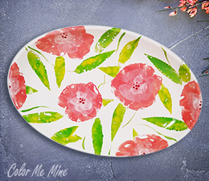 Hyderabad Floral Paper Stamping