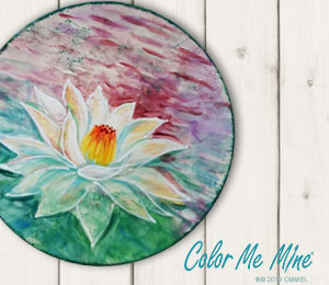 Hyderabad Lotus Flower Plate